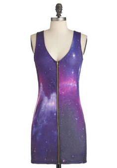 And this one, too cool...Galactic Tactic Dress @ModCloth