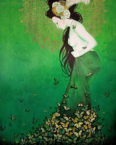 painting by Sylvia Ji