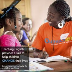 For children in Outreach360 programs, learning English provides opportunities to escape poverty and change their life.