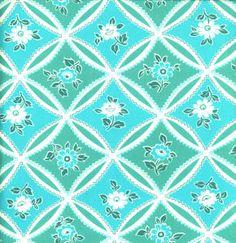 Jennifer Paganelli JP10 Bell Bottoms Mary Trellis Emerald Cotton Fabric 1 Yard. $7.00, via Etsy.