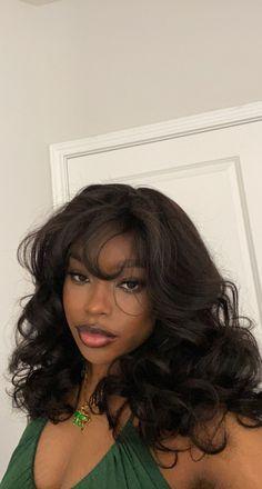 Baddie Hairstyles, Black Girls Hairstyles, Pretty Hairstyles, Braided Hairstyles, Latina Hairstyles, Naturhaar Bob, Hair Inspo, Hair Inspiration, Curly Hair Styles