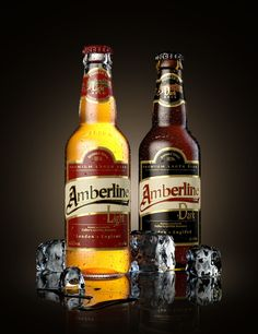 Beer Labels, personal project by Andrei Serghiuta - 3D render using Maya and mental ray. Product visualization and design.