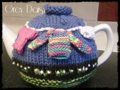 Other side of the Washing Day Tea Cosy