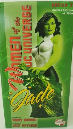 DC Women of the DC Universe DCU Jade Bust Dc Universe, Sculpting, Jade, Disney Characters, Fictional Characters, Comic, Ebay, Characters, Whittling