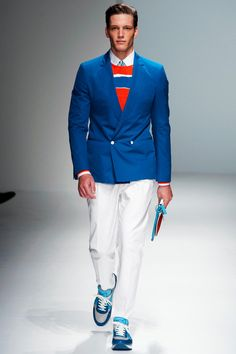 Salvatore Ferragamo Spring 2013 Menswear Collection
