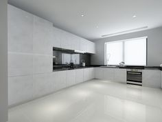 Marble Themed Interior | Laminate Featured on Cabinets : WW8828WC
