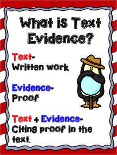 How do you teach students to cite evidence in text? This blog post will take you through a plan that will get your students citing evi...