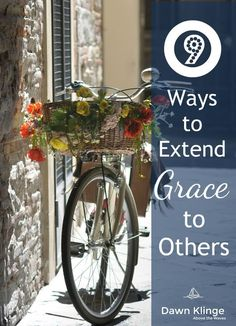 9 ways to extend grace to others- Showing grace to others is about showing kindness even when they don't deserve it. God has shown such grace to us. We, in turn, are asked to show grace to each other.