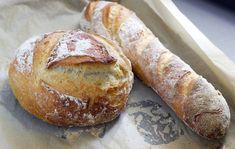 Cea mai ușoară rețetă de pâine Easy Bread Recipes, Healthy Recipes, Fondant, Tips & Tricks, Appetisers, Bread Rolls, Bread Baking, Baked Goods, Good Food