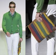 Loads of high style men's bags for inspiration.