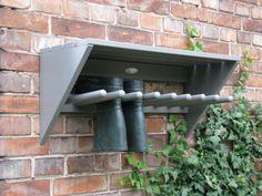 Muurlaarzenrek grijs - Esschert Design