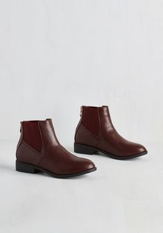 Boston to Austin Bootie in Burgundy