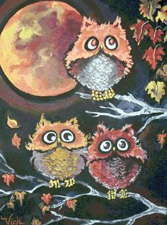 Would love to find this Wise Owls counted cross stitch chart ... Anybody know who-o-o the designer is?