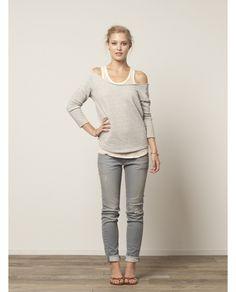Wide Crewneck Sweater