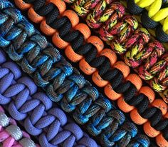 Custom Leashes in your favorite colors and length! Don't forget that we also send a FREE leash to a shelter or rescue of your choice!