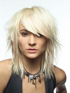 Medium Choppy Layered Haircuts | Medium Choppy Haircut Ideas | world of fashion