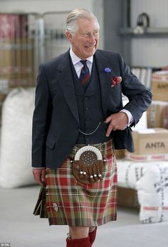 The prince, also known as the Duke of Rothesay, also visited Anta home…