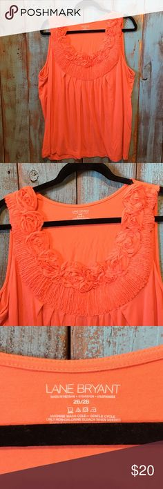 Lane Bryant tank blouse // size 26/28 // NWOT This is new without tags. Too big and was never worn.  --------------------------------------------------------------------No rips, stains or tears. Smoke free, pet free home. No trades! Lane Bryant Tops