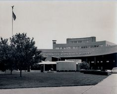 The original airport - demolished in the early 1990s - Pittsburgh, Pennsylvania.