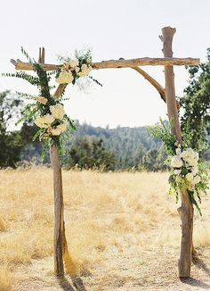 Image result for how to make driftwood wedding arch