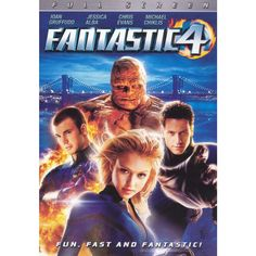 Jessica Alba, Michael Chiklis, Chris Evans, and Ioan Gruffudd in Fantastic Four Movies And Series, Hd Movies, Movies To Watch, Movies Online, Movie Tv, Movies Free, Cinema Movies, Films Marvel, Marvel Dc