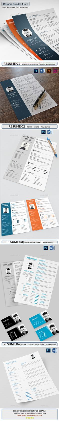 #Resume Bundle - Resumes Stationery