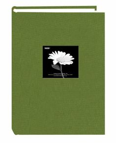 Pioneer 300 Pocket Fabric Frame Cover Photo Album, Herbal Green by Pioneer Photo Albums. $16.99. Holds 300 4-inch by 6-inch photos. Archival, photo safe: acid, lignin and PVC free. Frame front design. Fabric sewn cover. 3 Photos per page. This photo album holds 300 4-inch by 6-inch photos in optically clear plastic pockets with memo area. It features a frame front. The album is bookstyle bound in an Herbal Green fabric cover. Photos are displayed three per page.