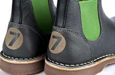 Chelsea Boots DEVRIES NR.7 www.DEVRIESkinderschoenen.nl