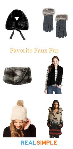 Our 6 favorite ways to wear FAUX fur this winter.