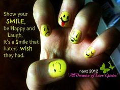 Show Your Smile And Laugh