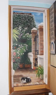 Tromp-loeil-su-porta. http://danielpatti.altervista.org