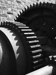 machines #4. grayscale.. something mechanical