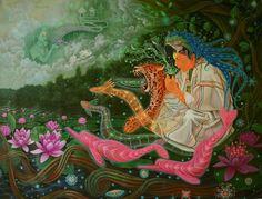 Art by Lobsang Melendez Ahuanari