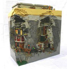 Life Below in Lego