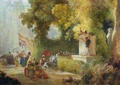 la fête à saint-cloud, Fragonard