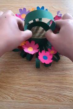 Diy Origami, Paper Crafts Origami, Paper Crafts For Kids, Diy Arts And Crafts, Creative Crafts, Preschool Crafts, Paper Crafting, Fun Crafts, 3d Paper