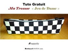 Bettinael.Passion.Couture.Made in france: Couture Trousse Pochette