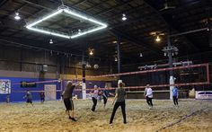 Verdict still out on indoor sand volleyball court at bar - Toledo Blade