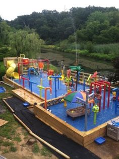 backyard water parks on pinterest water parks water slides and poo
