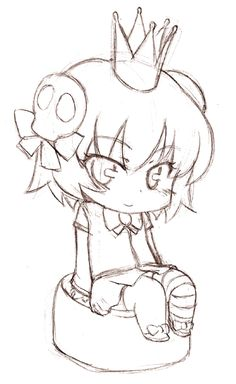 DeviantArt: More Like Random Chibi 11 'Boiiw' by CatPlus Girl Drawing Sketches, Bff Drawings, Anime Girl Drawings, Manga Drawing, Anime Art Girl, Anime Chibi, Anime Kawaii, Anime Bebe, Arte Do Kawaii