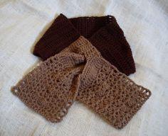 Choco-Muffin Scarflet, a free crochet pattern by Craftybegonia!  Love chocolate? Wear it!   #Crochet #Wearables #Scarfs   #Scarves #FREE pattern