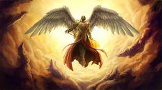 Archangel Michael - Angel of Protection Dark Angels, Angels And Demons, Michael Angel, Archangel Michael, St Michael, Archangel Uriel, Engel Tattoo, Warrior Angel, Digital Art Gallery