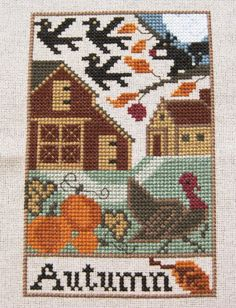Prairie Schooler - Autumn - Country Seasons by merrywether