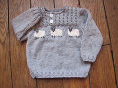 Le pull mouton en tricot trop chou !