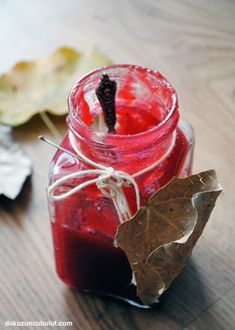 Kışa hazırlık Canning Recipes, My Recipes, Favorite Recipes, Cranberry Jam, Eat Me Drink Me, Compote Recipe, Thanksgiving Dinner Recipes, Fruit Preserves, Tasty