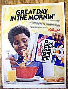 1979 Kellogg's Sugar Frosted Flakes Cereal
