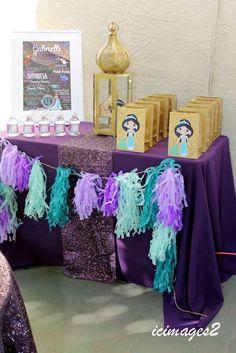 Princess Jasmine Birthday Party Ideas | Photo 8 of 30 | Catch My Party