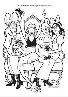 Take that, Gamer Gate. Linnea Johansson's 'Super Strong Princess' Coloring Book Shows Girls You Can Aim Higher Than Just A Pretty, Pretty Princess