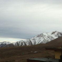 Cancha de esquí en segundo plano sin nieve!!!