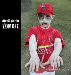 This pains me to post, but it's hilarious...baseball costume via @livinglocurto #WS #STLCardinals